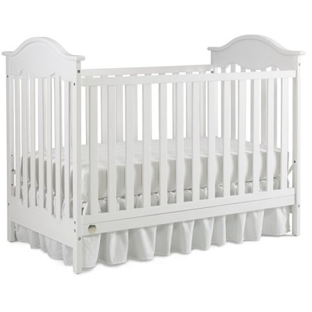 Fisher-Price Charlotte 3-in-1 Convertible Crib Snow White ()