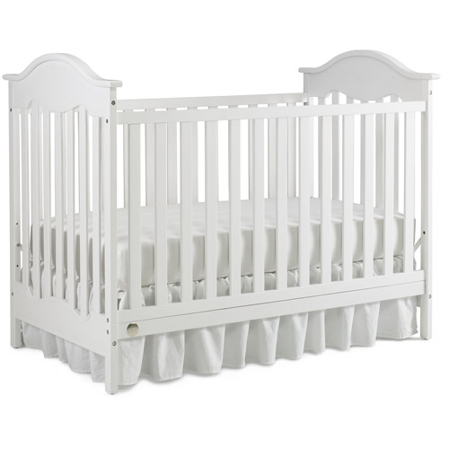 Fisher-Price Charlotte 3-in-1 Convertible Crib Snow White