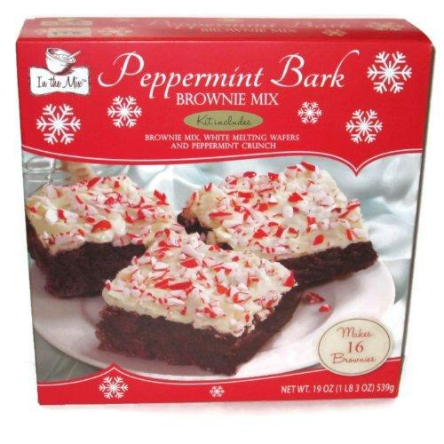 In the Mix Peppermint Bark Brownie Mix (1 Box)