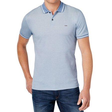 6f28f59a Michael Kors - Michael Kors NEW Prussian Blue Mens Size Small S Contrast Polo  Shirt - Walmart.com
