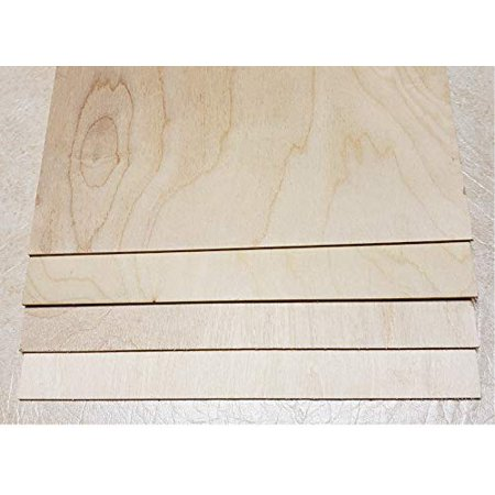 """12""""X12""""X1/8"""" Thickness Baltic Birch Plywood Box of 16 / Perfect for Pyrography Wood Burning,Laser Cutting,CNC Router.Modeling,Fretwork,Scroll Saw Nature Veneer Color. Bullet"""