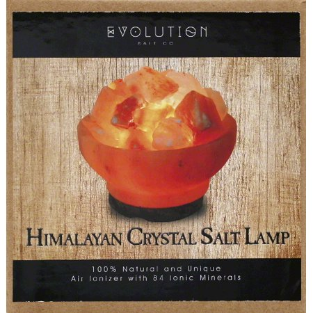 evolution salt crystal salt lamp himalayan - Evolution Salt Lamp