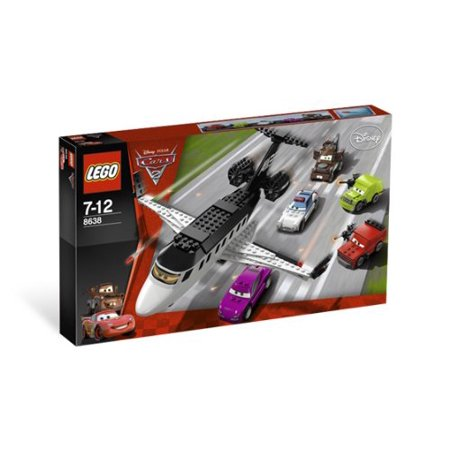 "Lego Disney/Pixar Cars 2 ""Spy Jet Escape"" 8638 - image 1 de 1"