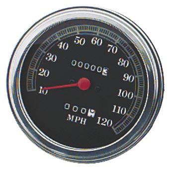 Biker's Choice 75081DBX 5in. FL Type Speedometer