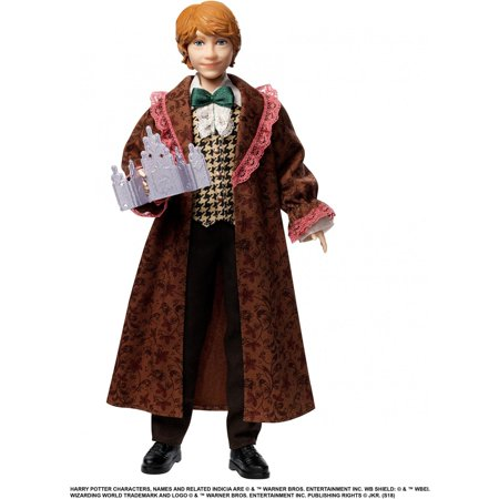 Harry Potter Ron Weasley Yule Ball Doll with Film-Inspired Outfit ()