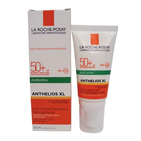 Laroche Posay Sun Protection Cream - La Roche Posay Anthelios XL SPF 50+ Gel Cream Dry Touch, 1.69 Oz