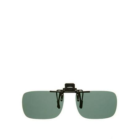 56325ec98ac Solar Shield - PolarAB FlipUp Rectangle 54 Sunglasses - Walmart.com