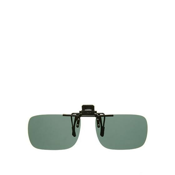 15b5a2d0eea Solar Shield - PolarAB FlipUp Rectangle 54 Sunglasses - Walmart.com
