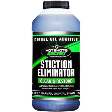 Hot Shots Secret Stiction Eliminator Diesel Oil Additive 16 FL. OZ.