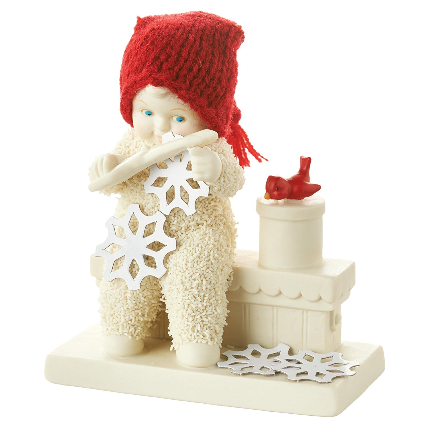 Department 56 4051932 Clasb Making Snow Figurine, A Dept 56 product By Department-56 Ship from US