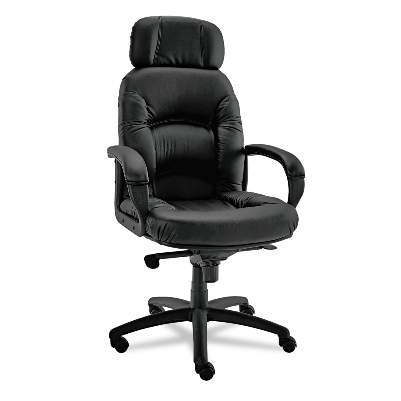 Alera Alera Nico Series High-Back Swivel/Tilt Chair, Black