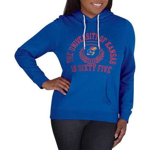 NCAA Kansas Jayhawks Ladies Classic-Fit Pullover Hood