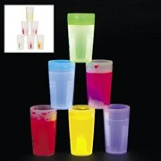 Glow Shot Glasses - Halloween Toys, Games & Novelties & Glow Products