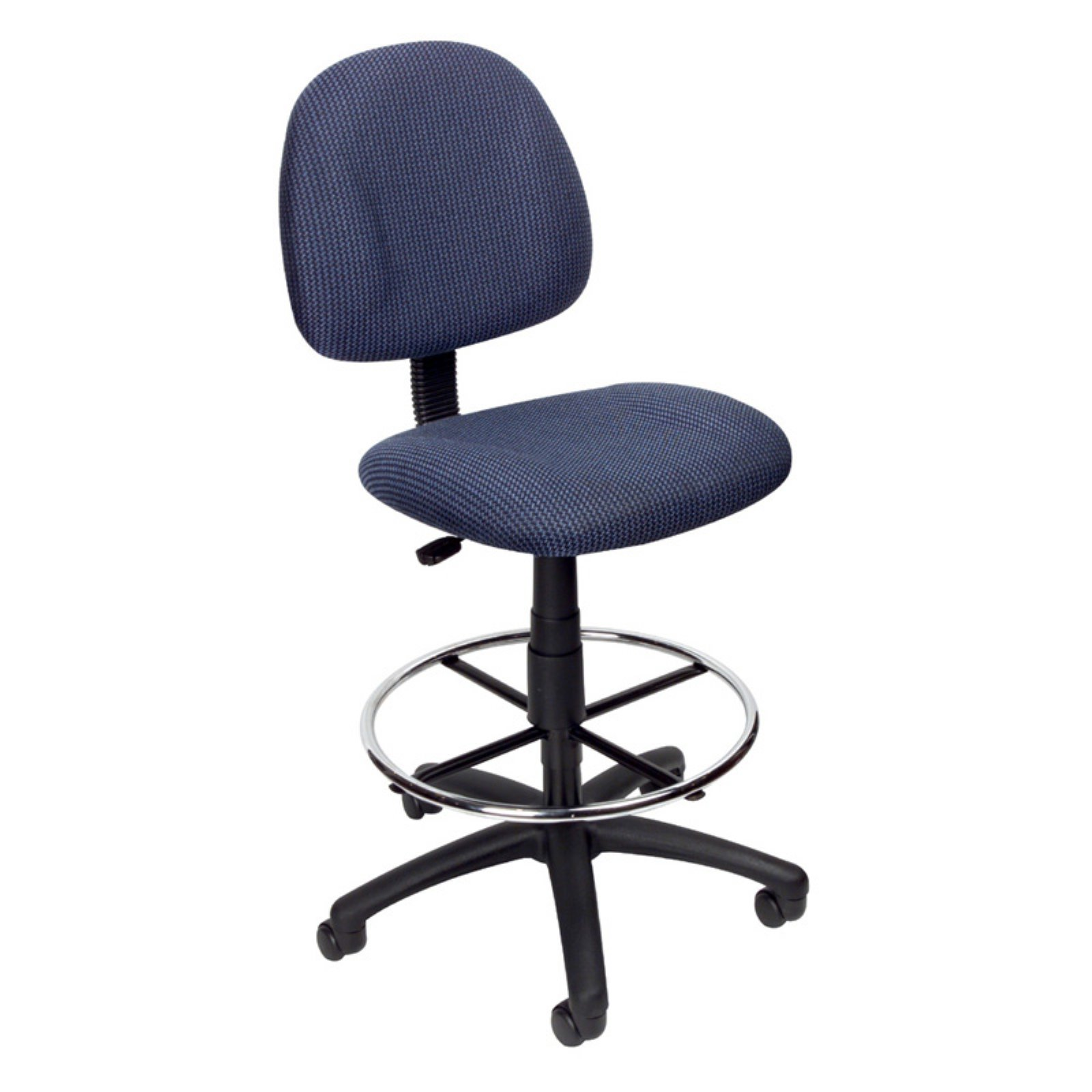 Boss Office Products Black Contoured Comfort Adjustable Rolling Drafting Stool Chair - Walmart.com  sc 1 st  Walmart & Boss Office Products Black Contoured Comfort Adjustable Rolling ... islam-shia.org
