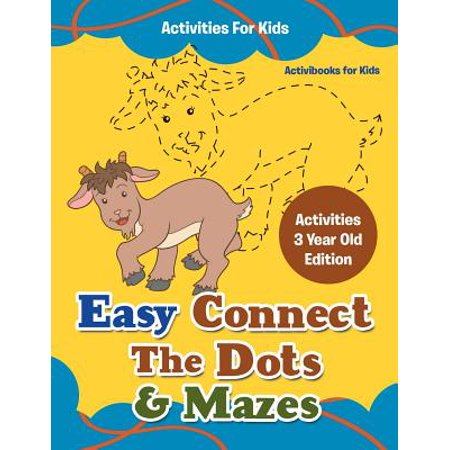 Easy Connect the Dots & Mazes Activities for Kids - Activities 3 Year Old Edition](3 Year Old Gift Ideas)