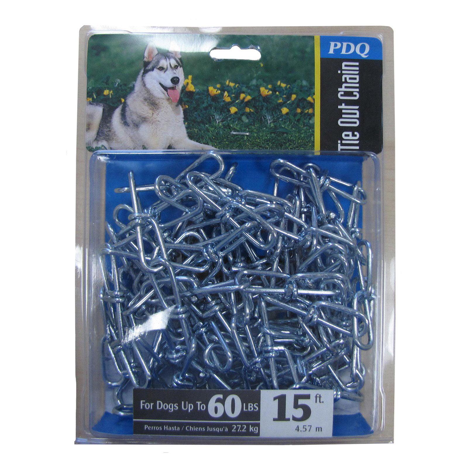 Boss Pet 43720 20 Large Pdq Twisted Dog Chain Walmart Com