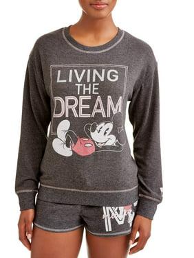 f97fd5eb56f61b Product Image Women s and Women s Plus Mickey Mouse Pajama Set. Disney