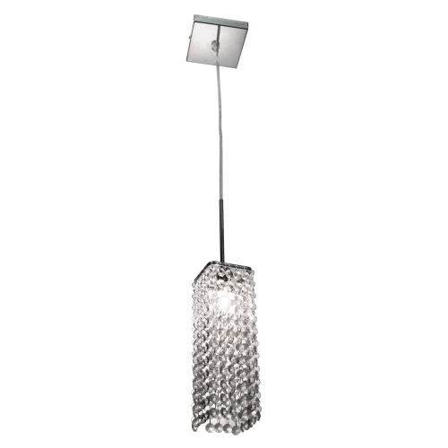 "Bazz Lighting PR3011DC Glam Single Light 3-1/4"" Wide Mini Pendant with Clear Glass Shade"