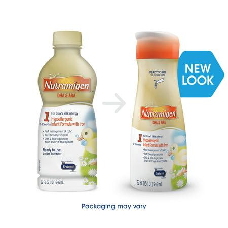 Enfamil Nutramigen Infant Formula  Ready To Use  32 Fluid Ounce Bottle  6 Count