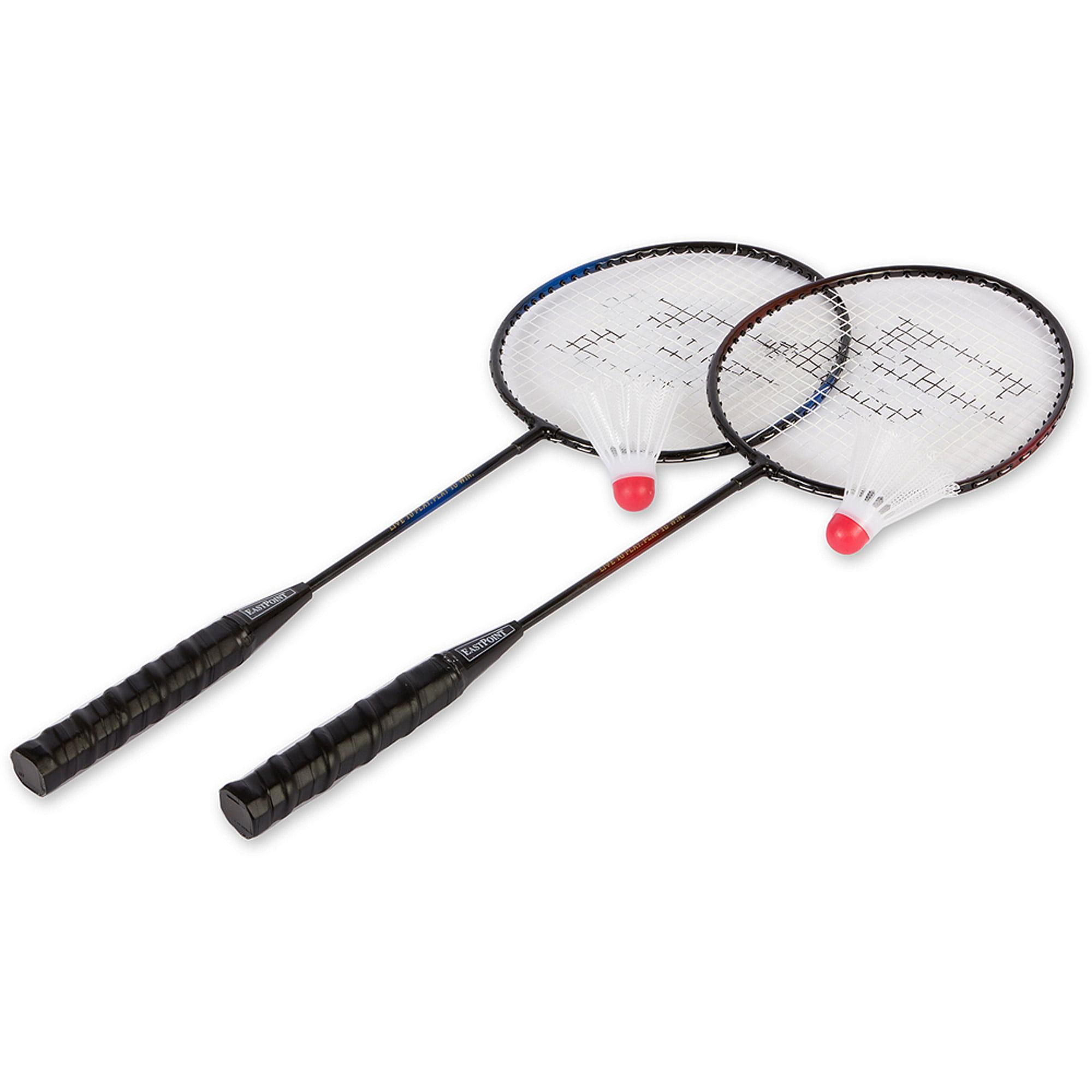 eastpoint sports 2 player badminton racket set walmart com