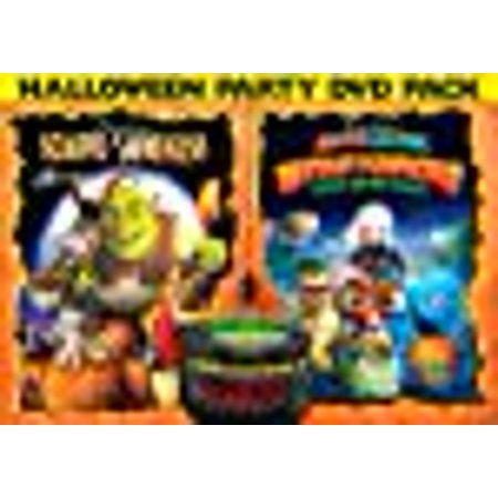 DreamWorks Halloween Double Pack (Scared Shrekless / Monsters vs Aliens: Mutant Pumpkins From Outer Space) (Halloween History Animation)
