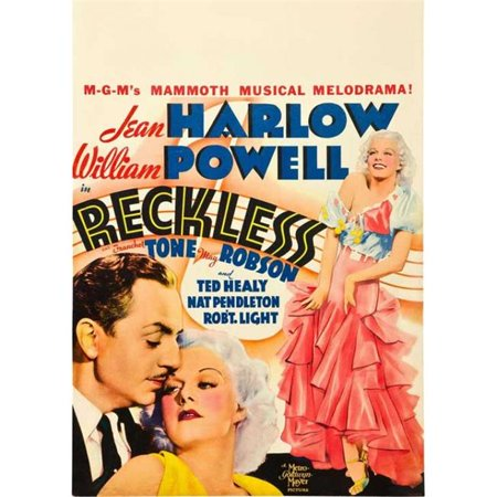 Posterazzi MOVGB80083 Reckless Movie Poster - 27 x 40 in. - image 1 of 1