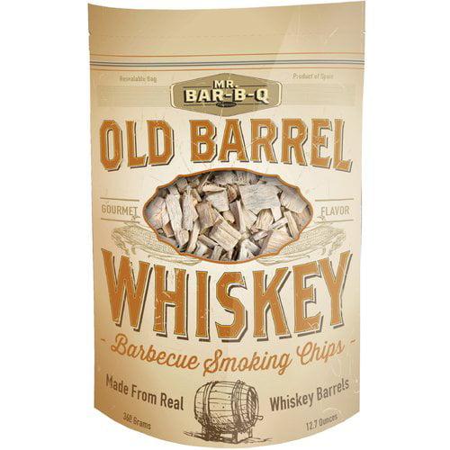 Mr. Bar-B-Q Old Barrel Whiskey Barbecue Smoking Chips