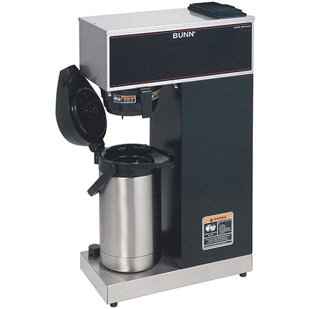 Bunn Pourover Airpot Coffee Brewer System   1375 W   3 80 Gal   12 Cup S    Black