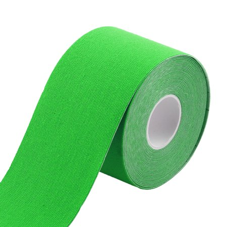 Sports Exercise Self-Adhesive Muscle Care Tape Wrap Bandage Lawn Green 5M Length