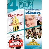 Office Space / Mrs. Doubtfire / My Cousin Vinny / Super Troopers (DVD)