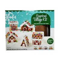 Marketside Create a Treat Gingerbread Village Kit, 1.76 lbs