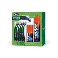 Schick Xtreme3 Disposable Razor Gift Pack - includes bonus Xtreme4 Razors & Edge Shave Gel