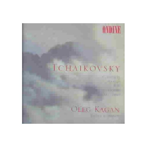 P.I. Tchaikovsky - Tchaikovsky: Complete Works for Violin and Piano [CD]