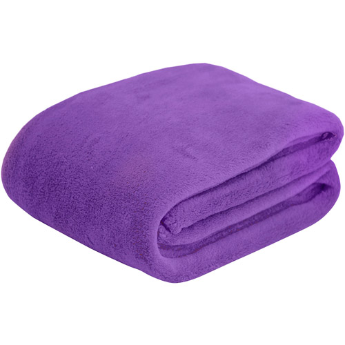 Mainstays Microplush Throw