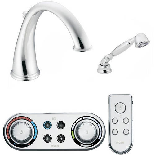 Moen T9212ORB Kingsley Tub Filler with ioDIGITAL Technology, Available in Various Colors