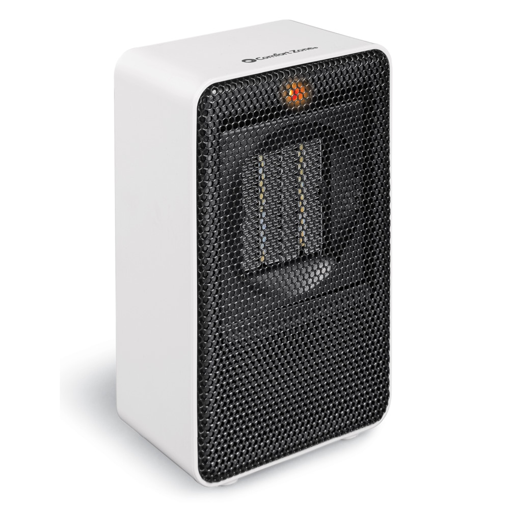 Portable Compact Ceramic Heater, White