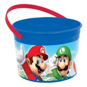 Super Mario Party Supplies 8 Pack Favor Container