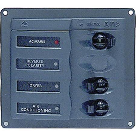 Marinco 110V AC Circuit Breaker 2-Way Panel