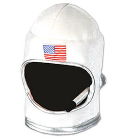 Space Balls Costumes (Plush Toy Space Helmet Nasa Astronaut Soft Hat Mask Costume)