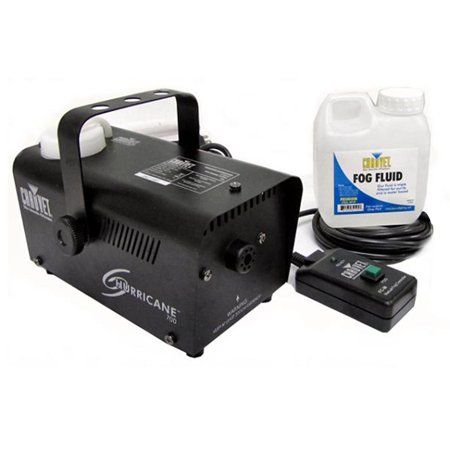 Chauvet Halloween Pro DJ Fog Smoke Machine w/ Fog Fluid & Wired Remote | H-700