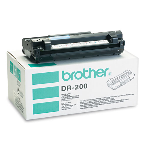 Brother DR200 Drum Cartridge - 20000 Page - 1 Pack - Retail