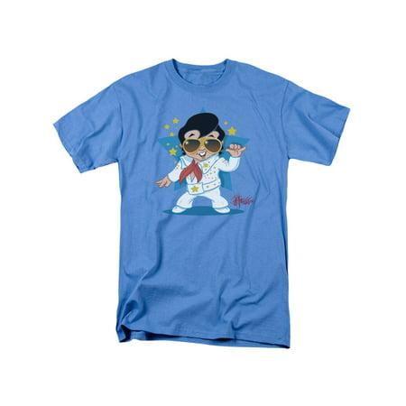 Elvis Presley The King Rock Jumpsuit Adult T-Shirt Tee - Pro Elvis Jumpsuit