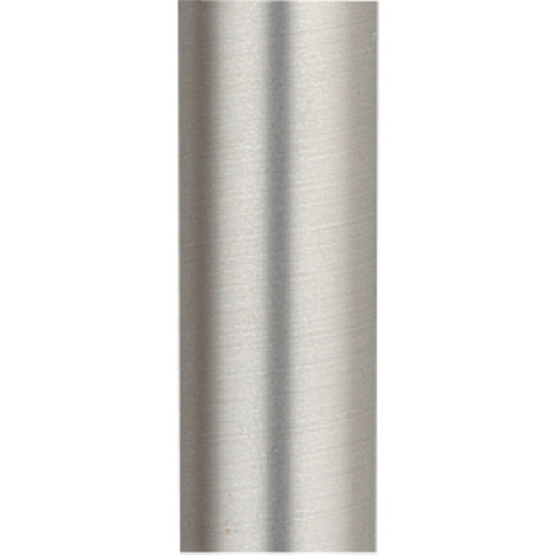 "Fanimation 48"" Stainless Steel Downrod in Satin Nickel"