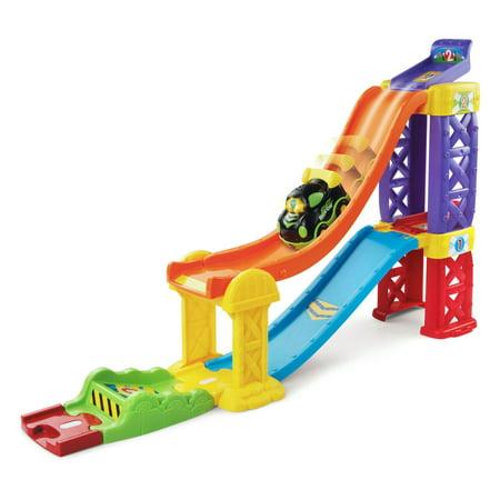 Plastic Raceway (VTech Go! Go! Smart Wheels 3-in-1 Launch & Play Raceway )
