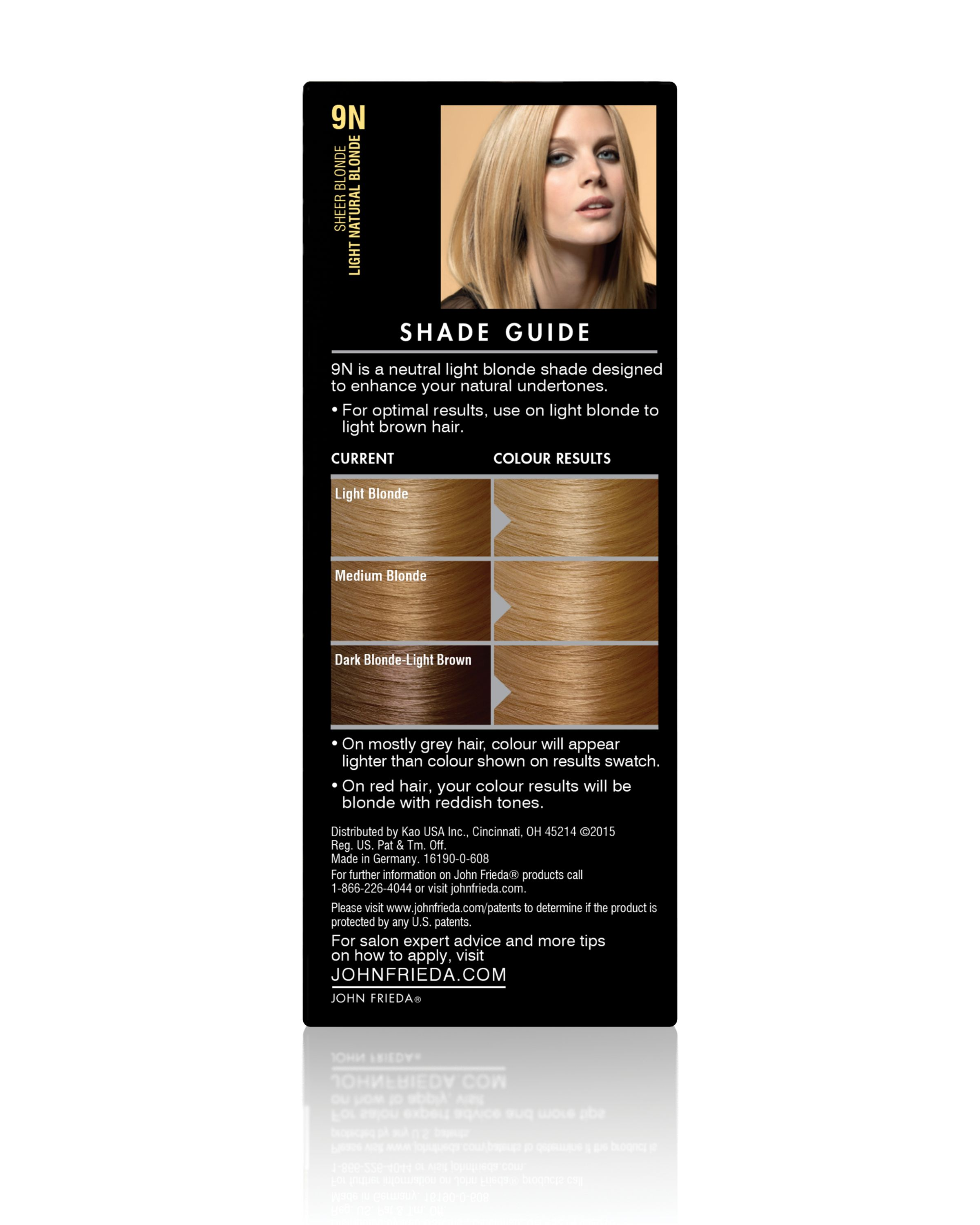 John Frieda Precision Foam Colour Hair Color Dark Chocolate Brown 4BG, 1  application