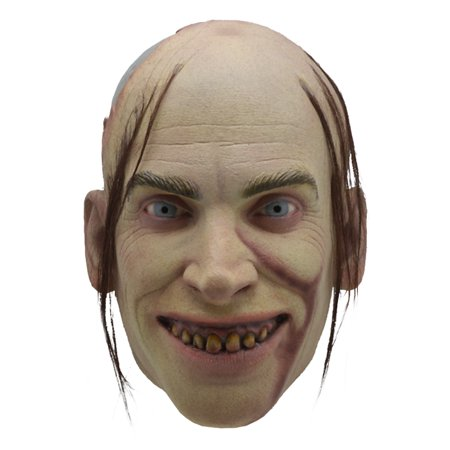 Texas Chainsaw Massacre 2 Chop Top Adult Latex Costume - Massacre Mask