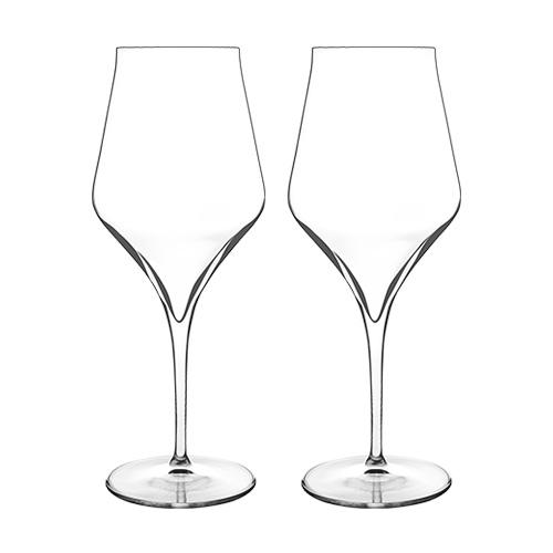 """""""Luigi Bormioli Supremo Bordeaux (2-Pack) Bordeaux Glasses"""" by Luigi Bormioli"""