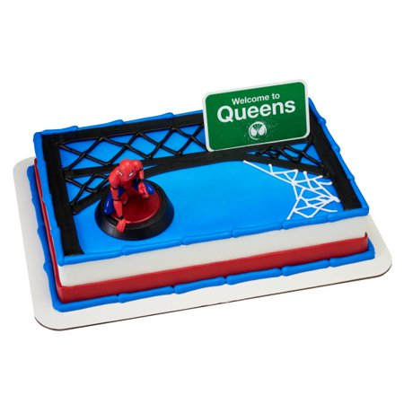 Spider Man Homecoming Welcome To Queens Cake Topper