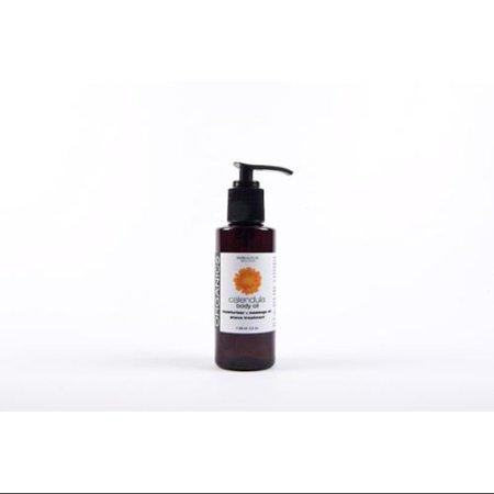 Calendula Body Oil (Organic Calendula Body Oil  Pump Bodyceuticals 3.5 oz Liquid)