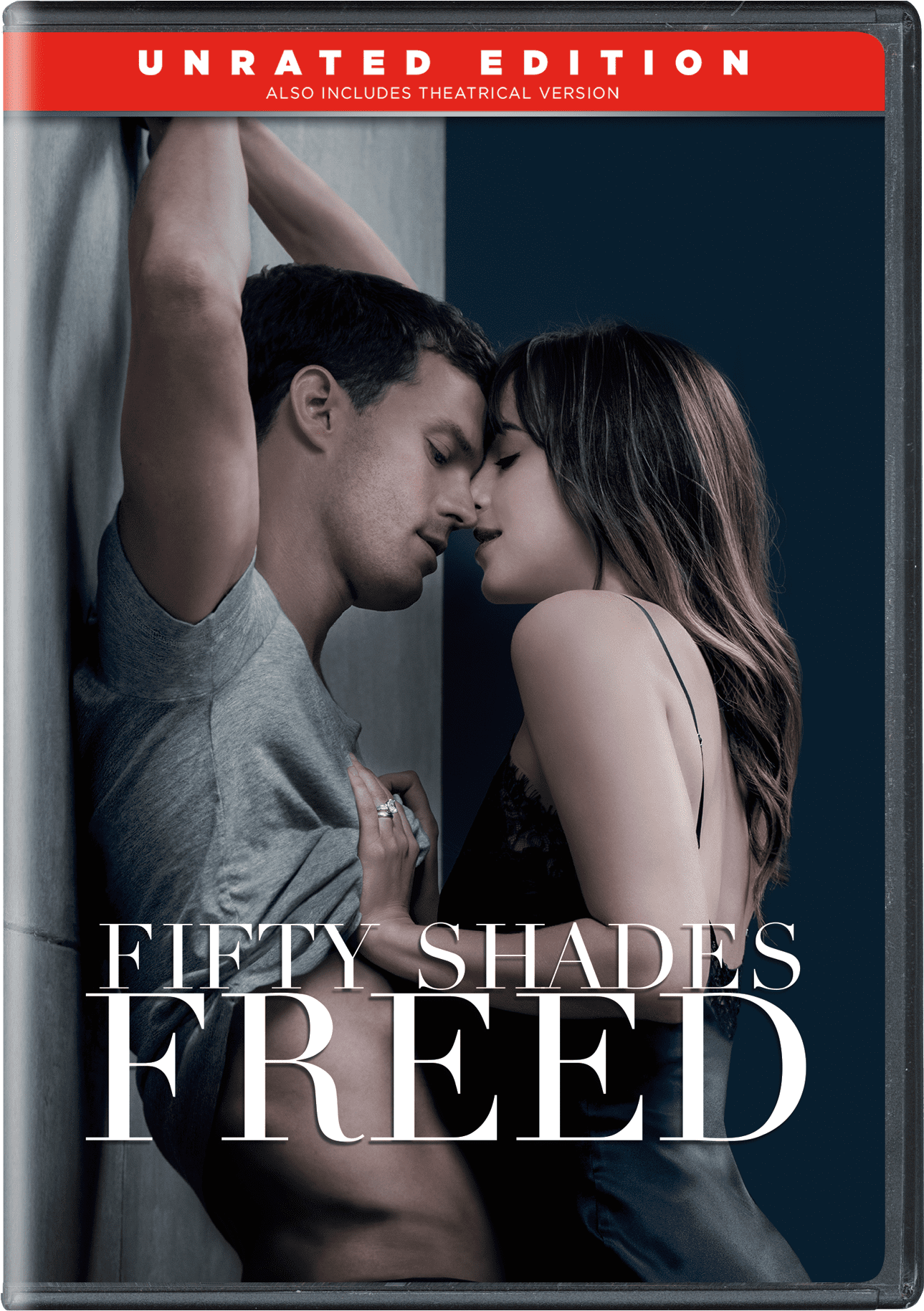 Click here to buy Fifty Shades Freed (Unrated Edition) (DVD).